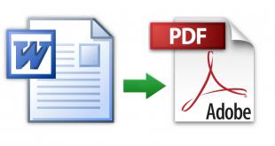 Cara Menyimpan File Document PDF di Microsoft Word 2007