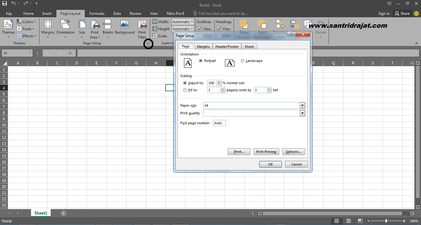 Cara Mengatur Page Layout Microsoft Excel