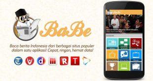 Aplikasi BaBe : Baca Berita