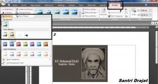 Membuat Foto Warna Menjadi Hitam Putih di Microsoft Word
