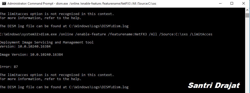 Cara Mengaktifkan .NET Framework 2 dan 3.5 di Windows 10 Offline