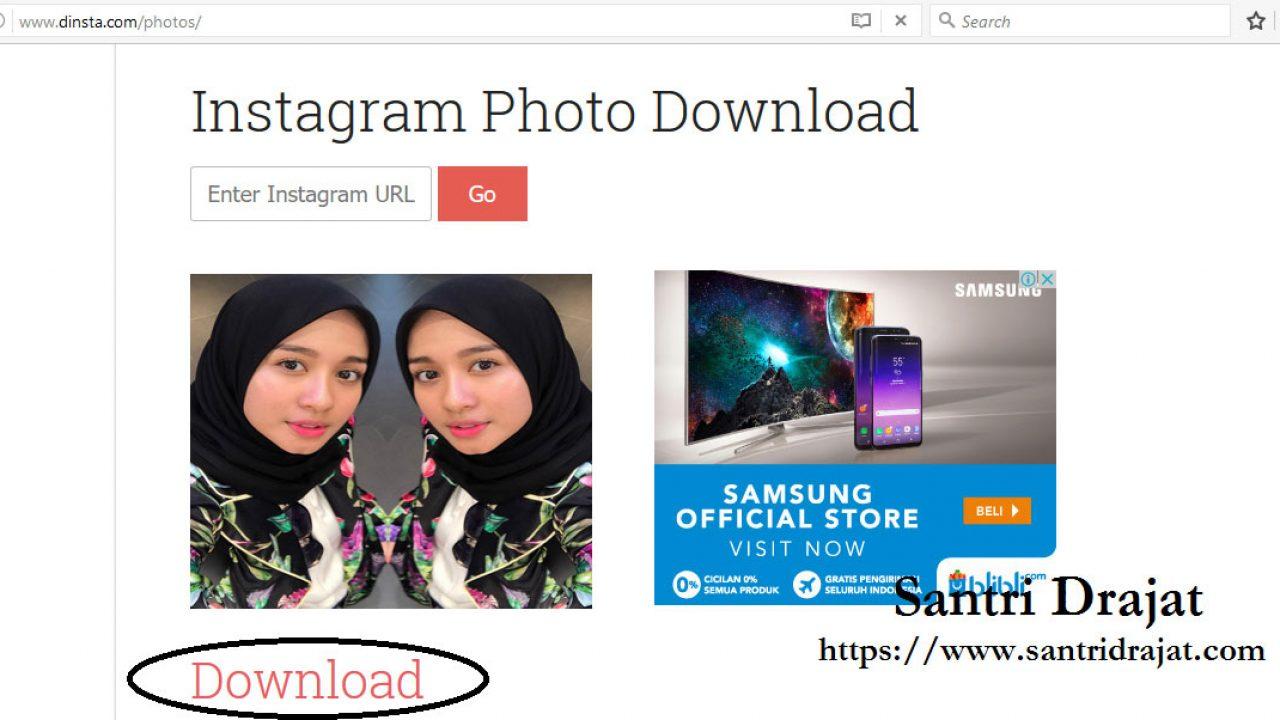 Menyimpan Foto & Video Instagram di PC Laptop Tanpa Aplikasi