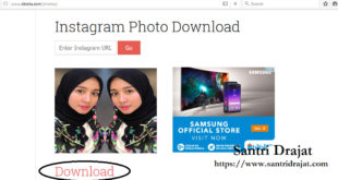 Menyimpan Foto & Video Instagram di PC Laptop Tanpa Aplikasi