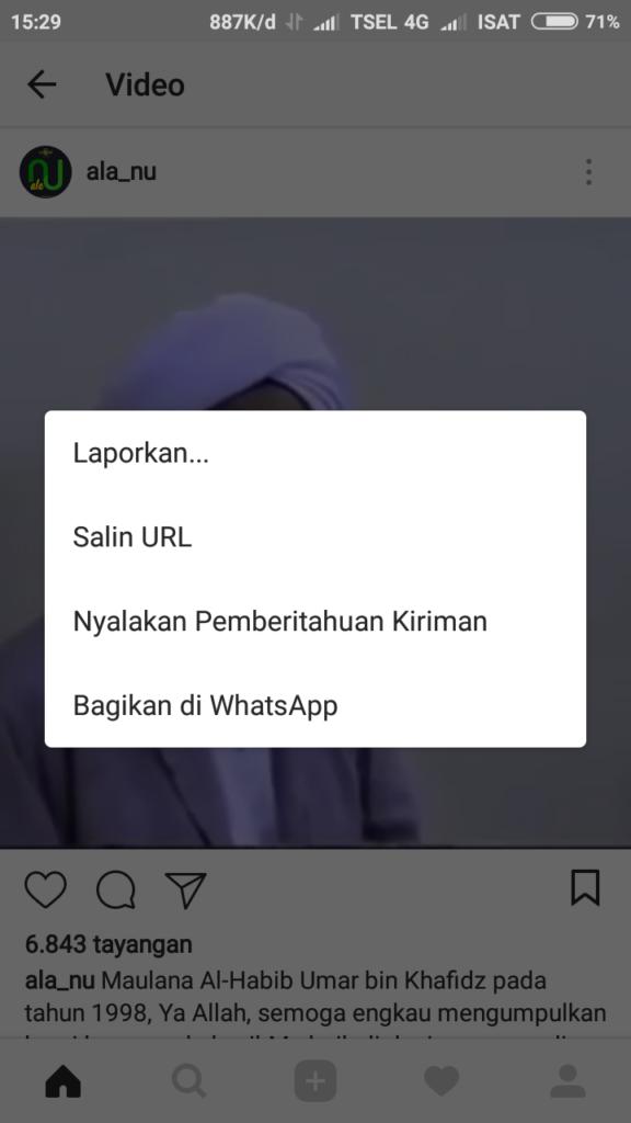 Cara Download Foto dan Video Instagram Di Android
