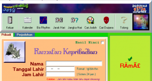 Download Software Ramalan Hitungan Weton dan Perjodohan