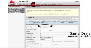 Cara Mengatur Modem Huawei HG245H Telkom Indihome