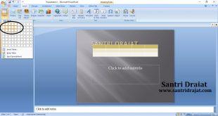 Cara Membuat Tabel di Microsoft Powerpoint
