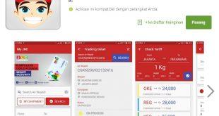 Review Aplikasi Android JNE dan J&T