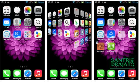 Cara Mudah Merubah Tampilan Android Menjadi iPhone Terbaru