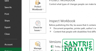 Cara Mengatur Font Sytle atau Gaya Font Default Excel