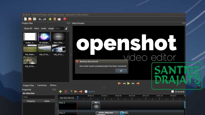 5 Software Aplikasi Edit Video 100% Gratis Untuk Youtuber - 2