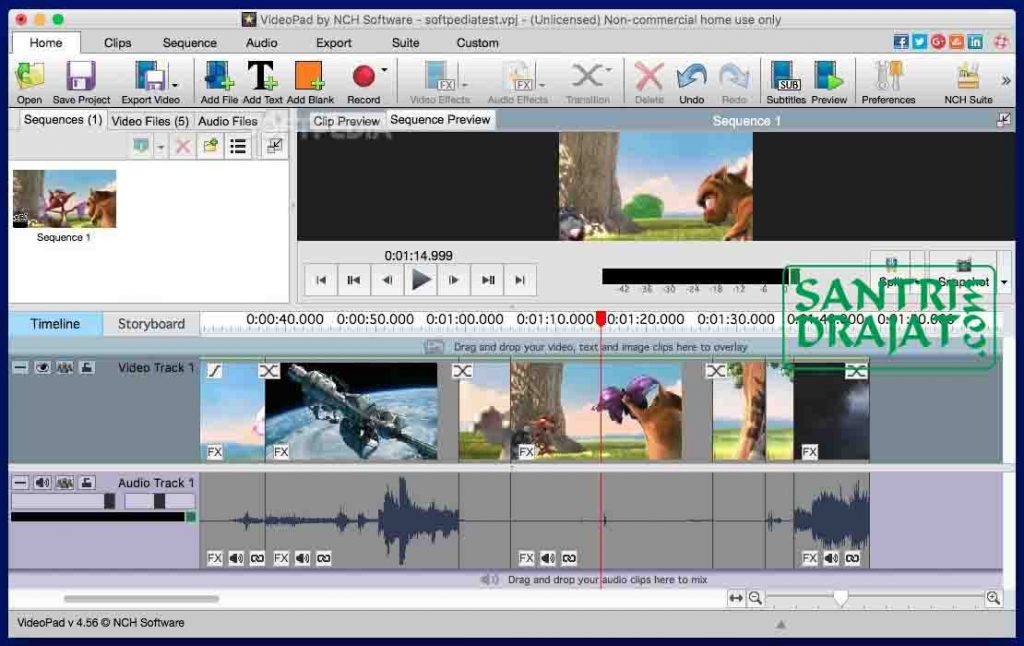 5 Software Aplikasi Edit Video 100% Gratis Untuk Youtuber - 5