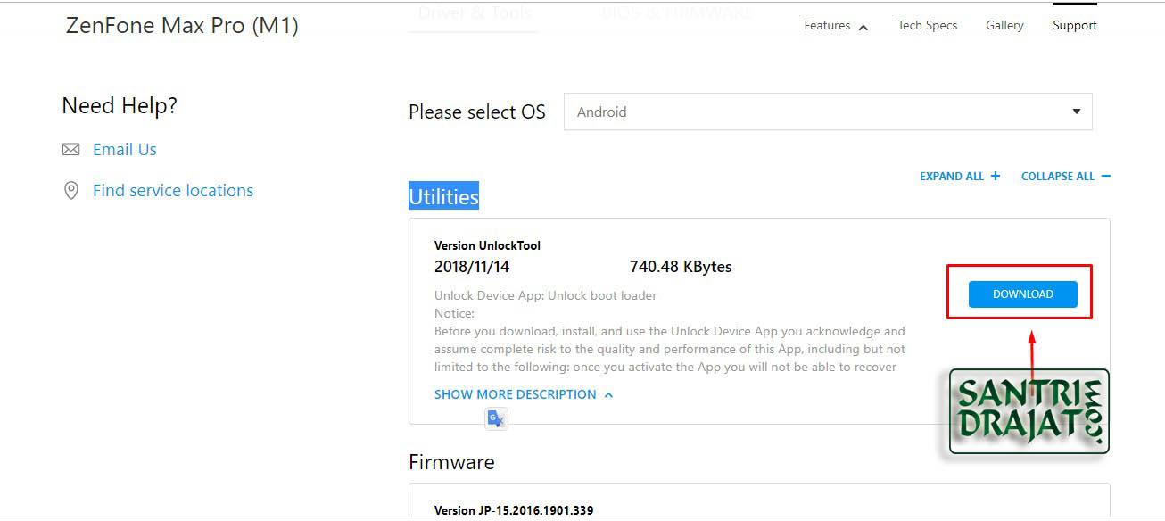 2 Cara Unlock Bootloader Asus Zenfone Max Pro M1