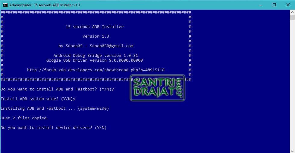 Cara Instal ADB dan Fastboot di Windows Terbaru