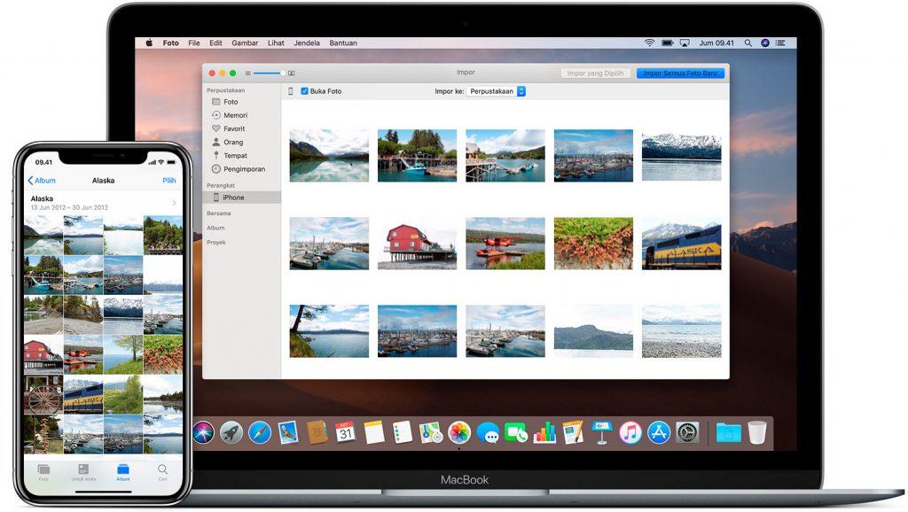Cara Memindahkan Foto Dari PC Windaw ke iPhone Tanpa iTunes