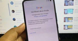 Cara Melewati Verifikasi Akun Google Setelah Factory Reset